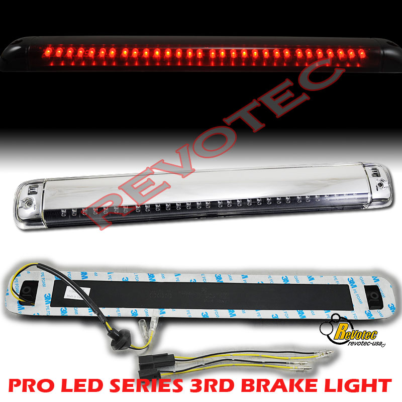 92 93 94 95 96 97 98 99 Chevy Suburban Tahoe 3rd Third Brake Light Chrome