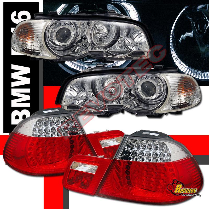 2000 Bmw 323ci Coupe: 00 01 02 BMW E46 323ci Coupe Halo Projector Headlights