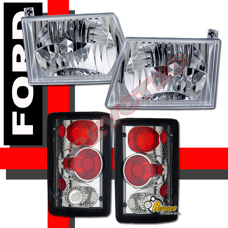 2000 Ford Econoline E350 Headlights Manual