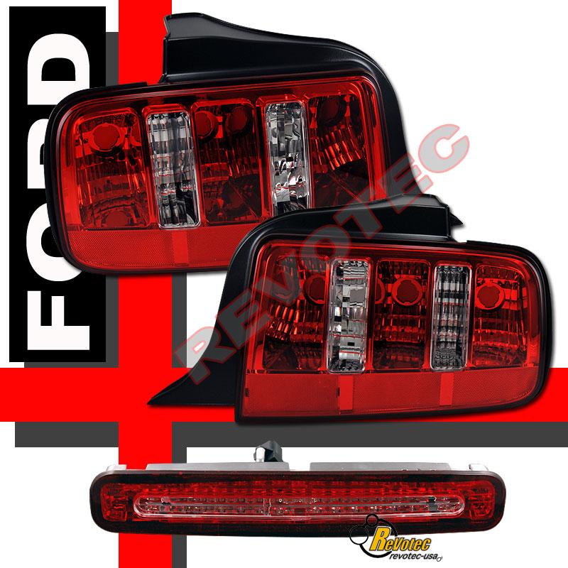 2005 2006 ford mustang v6 gt tail lights led brake light. Black Bedroom Furniture Sets. Home Design Ideas