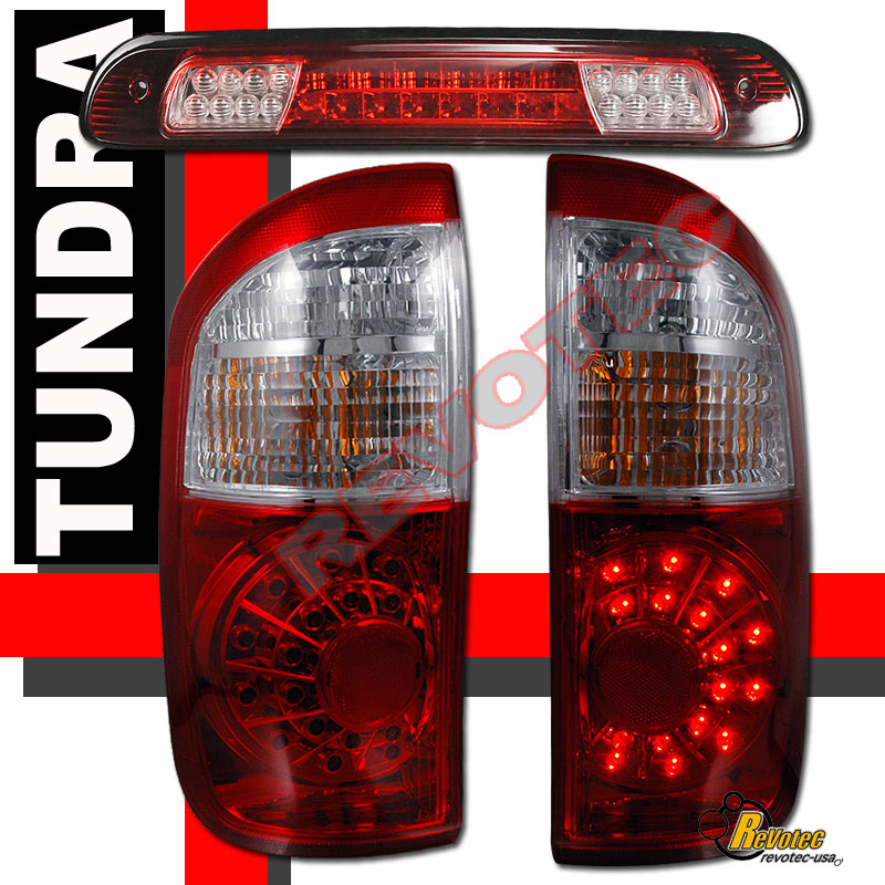 2006 Acura Tl Tail Lights For Sale: 2004-2006 Toyota Tundra Double Cab LED Tail Lights & LED