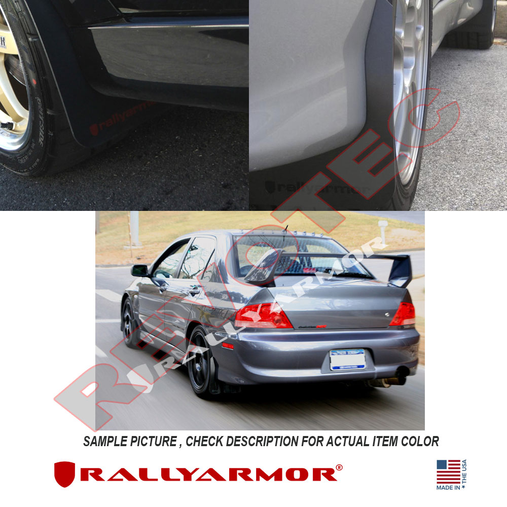 Rally Armor Classic Mud Flaps For 03-07 Lancer Evolution 8 ...