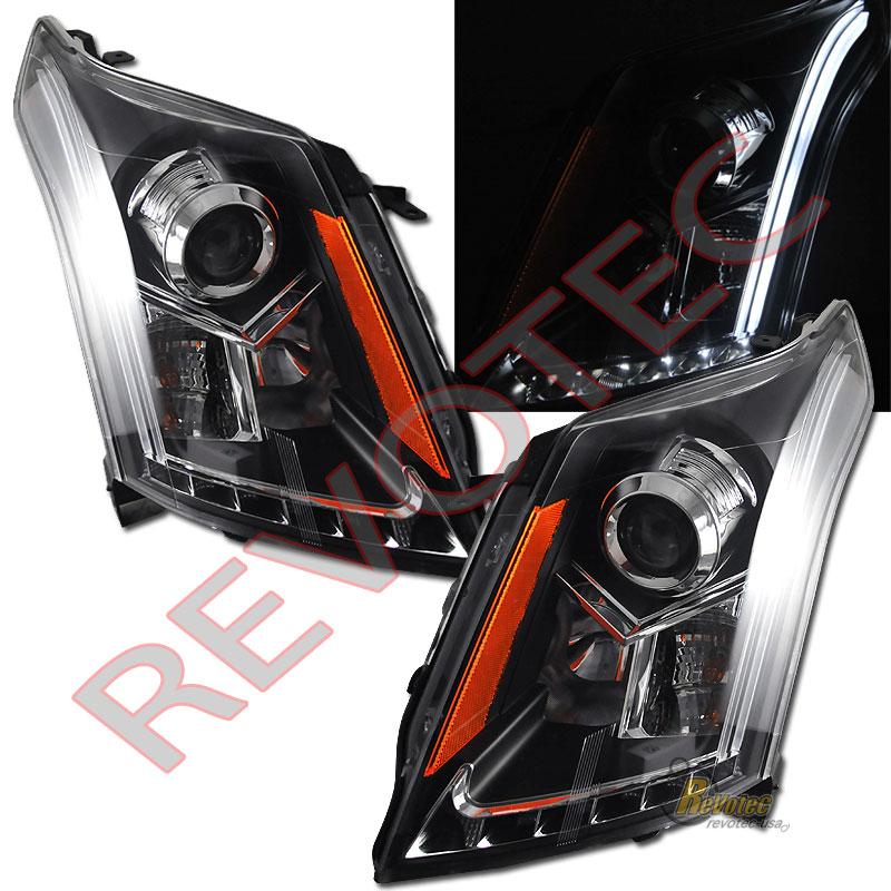 2015 Cadillac Srx For Sale: 2010-2016 Cadillac SRX LED Strip Black Projector