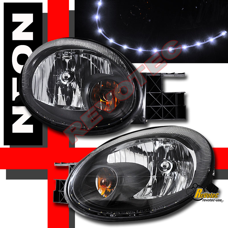 2003 2004 2005 Neon Se Sxt Srt4 Srt 4 Led Headlights Ebay