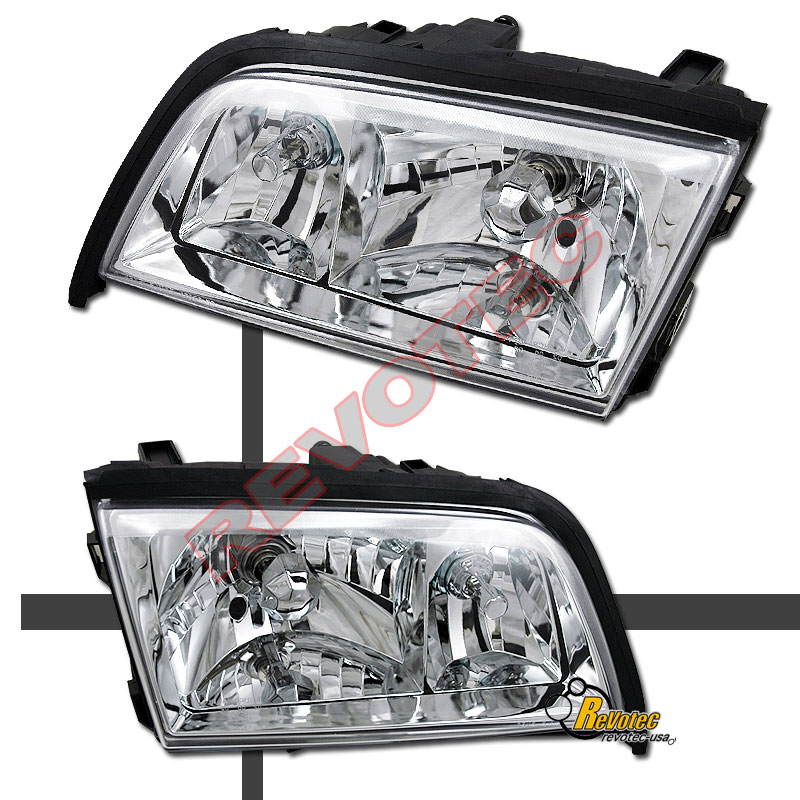 94-00 Mercedes Benz W202 C220 C230 C280 Chrome Headlights