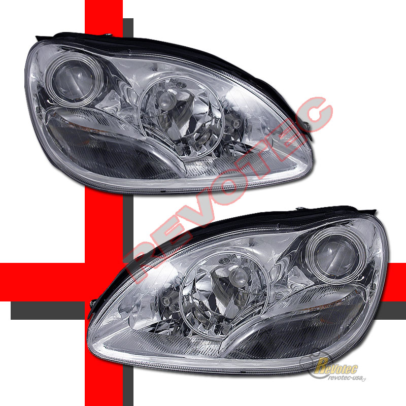 00 05 mercedes benz w220 s class s430 s500 chrome for Mercedes benz s430 headlight replacement
