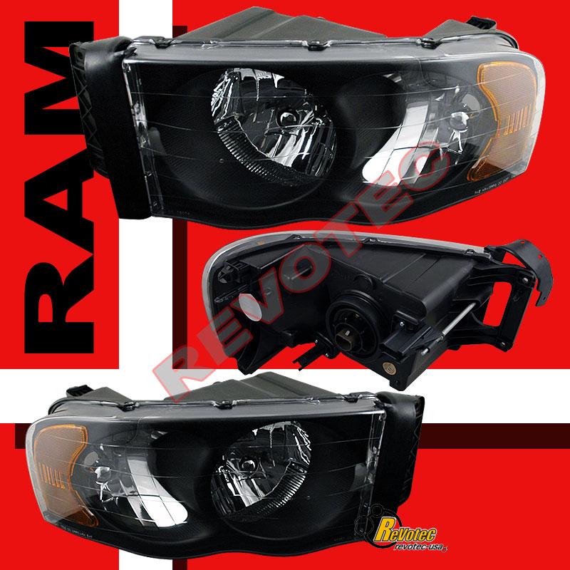 02 03 04 05 Dodge Ram 1500 2500 3500 Pickup Black