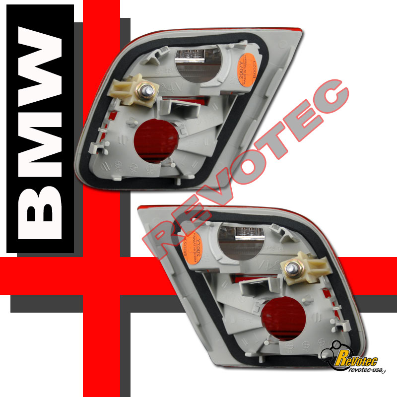 Bmw Z3 Tail Lights: 00 01 02 BMW E46 2Dr Coupe Inner Tail Trunk Lights Red