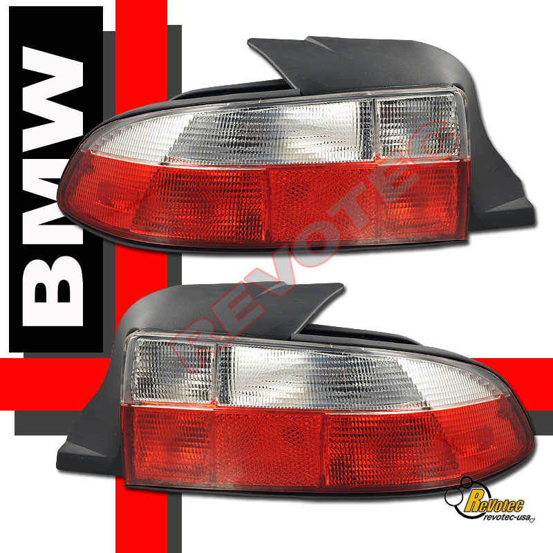 Bmw Z3 Tail Lights: 1996-1999 BMW Z3 Roadster Red Clear Tail Lights Lamps RH