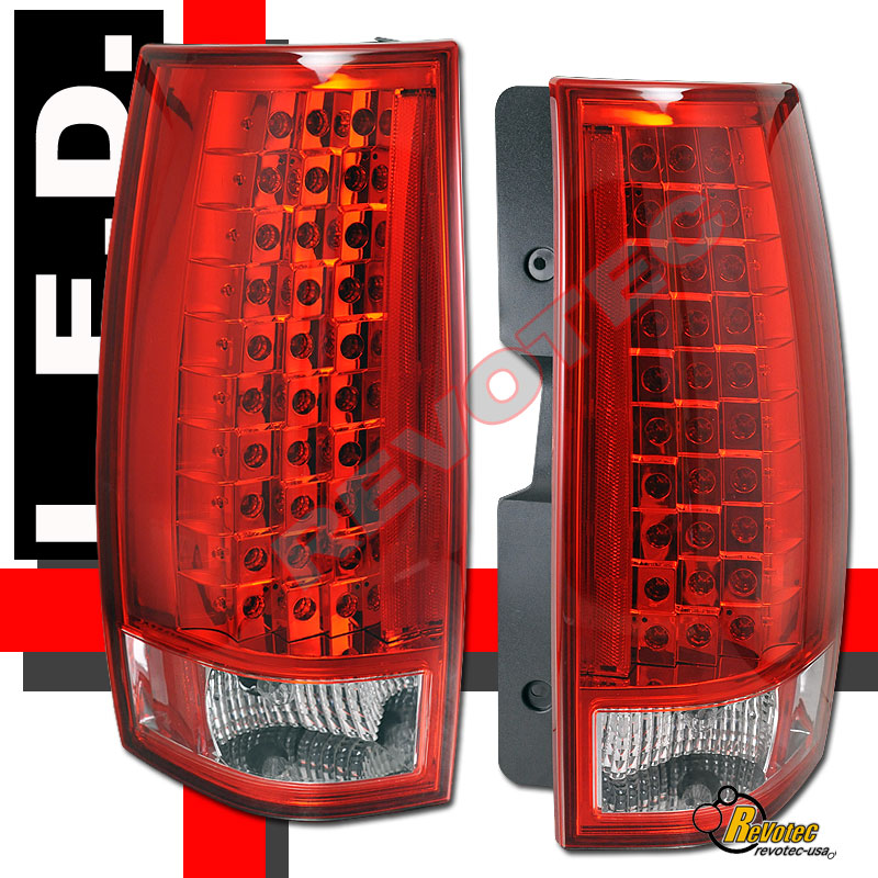 07 13 Chevy Suburban Tahoe Gmc Yukon Denali Red G4 Led
