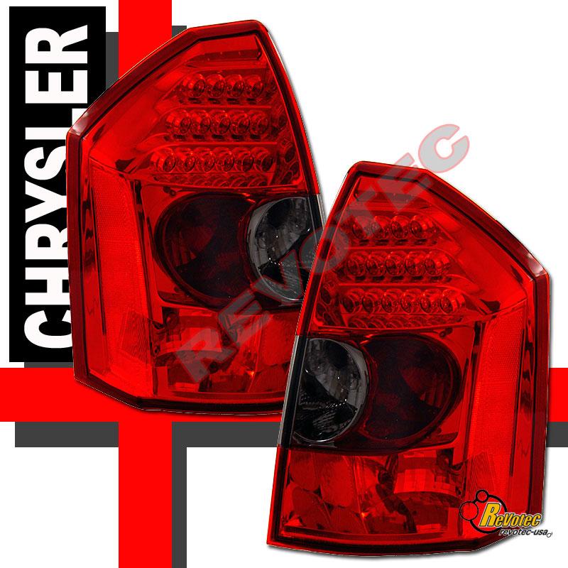 05 06 07 Chrysler 300-C 300C SRT-8 LED Tail Lights Lamps