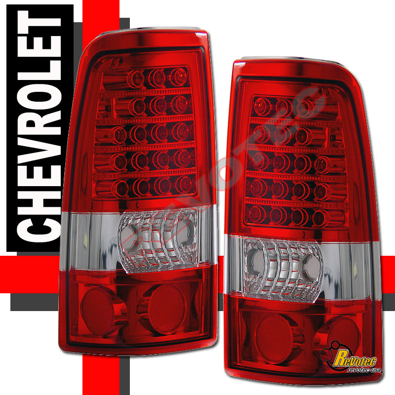 2006 Acura Tl Tail Lights For Sale: 2003-2006 Chevy Silverado 1500 2500 HD Pickup Red LED Tail