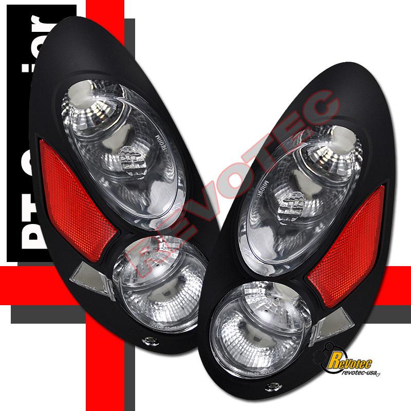 2001 2002 2003 chrysler pt cruiser tail lights lamps ebay. Black Bedroom Furniture Sets. Home Design Ideas