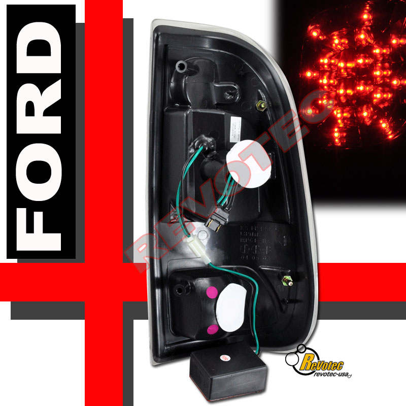 find 1999-2004 ford f-250 f-350 super duty led headlights ... 1995 ford e 350 tail light wiring diagrams