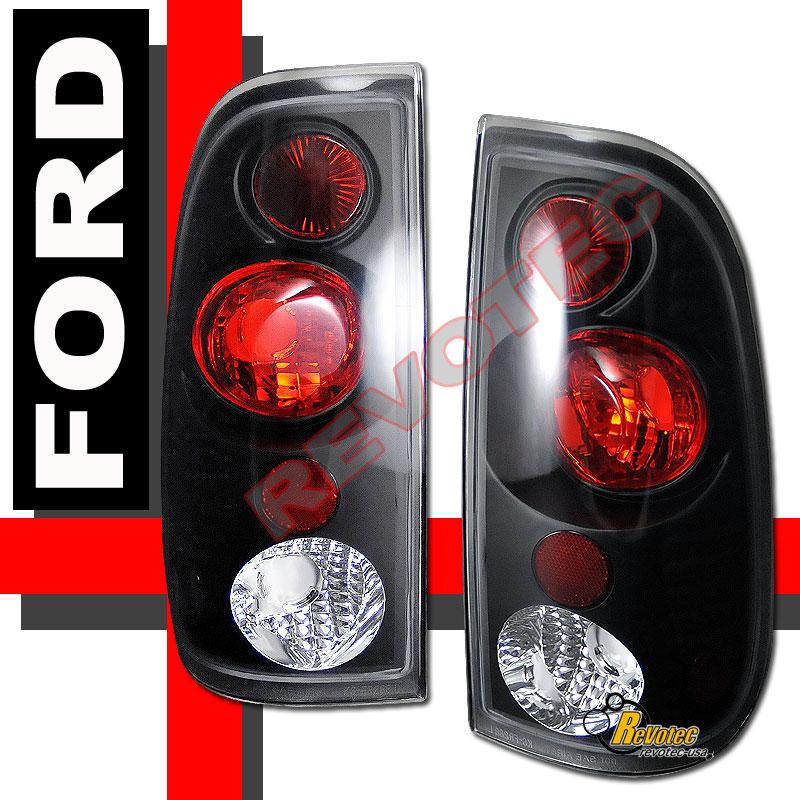 99 04 ford f250 f350 superduty pickup headlights bumper. Black Bedroom Furniture Sets. Home Design Ideas