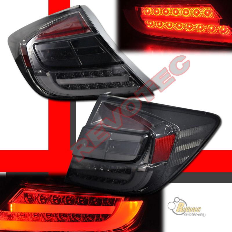 2012 Honda Civic 4dr Sedan Ex Dx Gx Si Smoke Led Tail