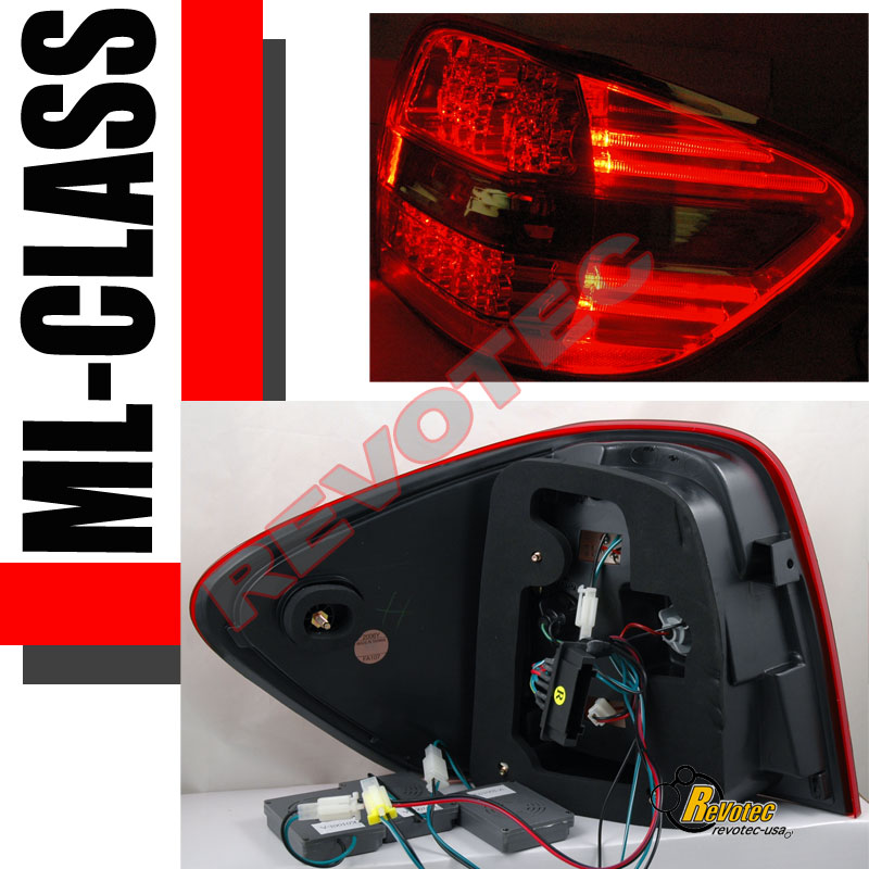 2006 Acura Tl Tail Lights For Sale: 2006-2009 Mercedes Benz W164 ML 320 350 500 63 LED Tail
