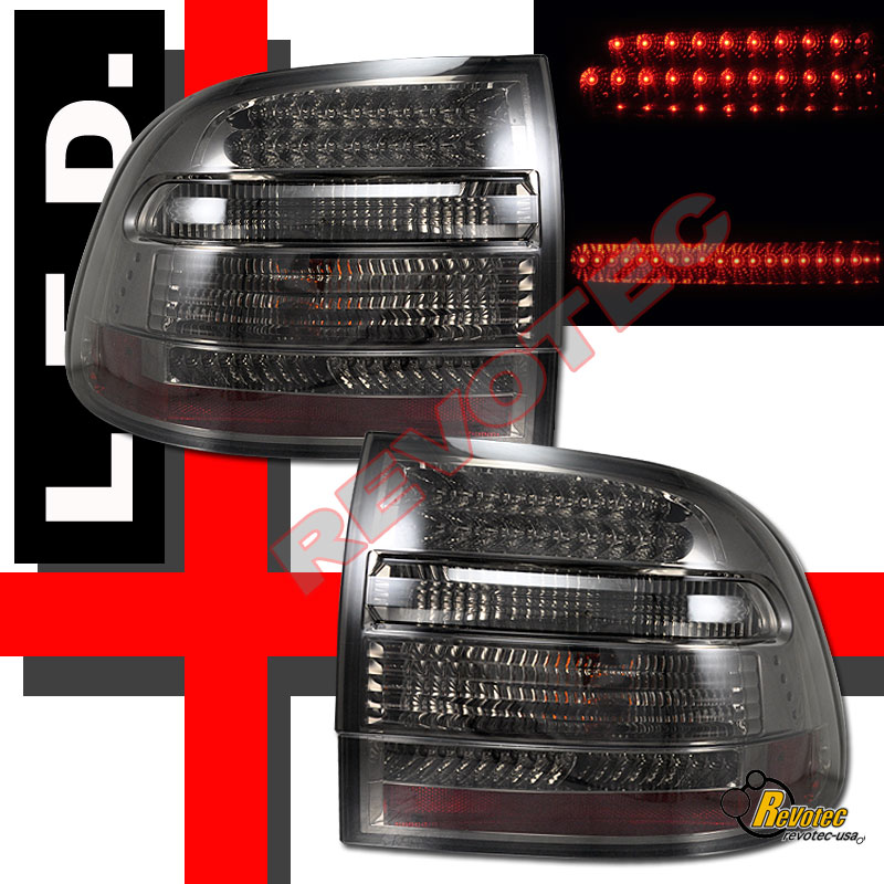 2006 Acura Tl Tail Lights For Sale: 2003-2006 Porsche Cayenne S/Turbo Smoke LED Tail Lights 1