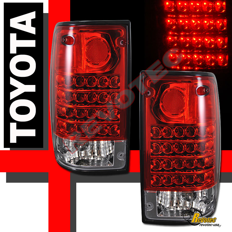 94 Toyota Pickup Truck: 89-95 Toyota Pickup LED Tail Lights Lamps 1 Pair 90 91 92