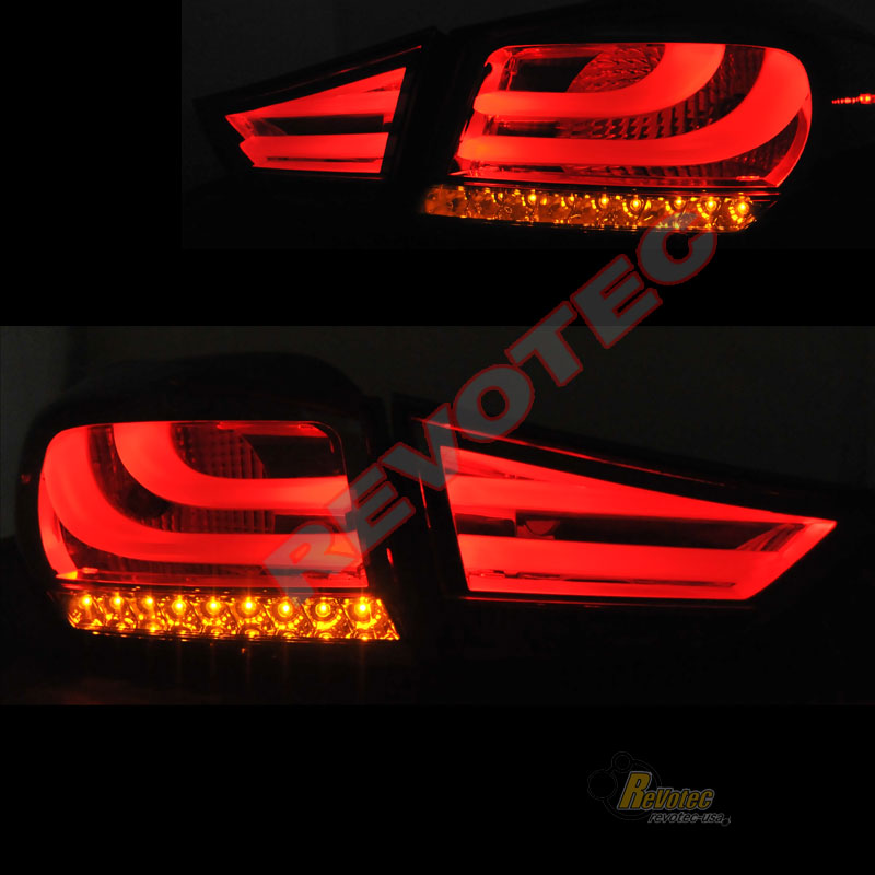 Smoke Led Tail Lights Lamps For 2011 2013 Elantra Gls Gs Se Limited Coupe Sedan Ebay