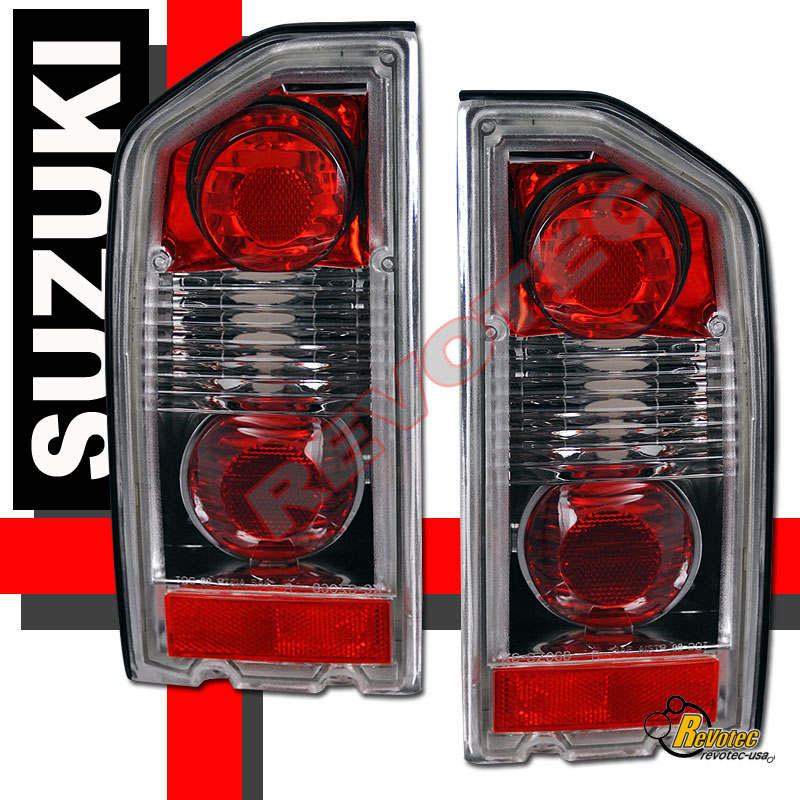 88-98 Suzuki Sidekick Tail Lights Lamps 1 Pair 90 93 95 96