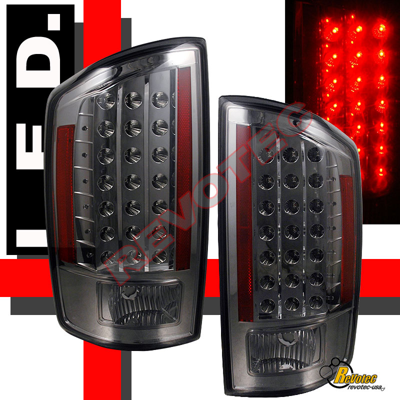 08 dodge ram 1500 2500 pickup ccfl halo projector headlights led tail. Black Bedroom Furniture Sets. Home Design Ideas