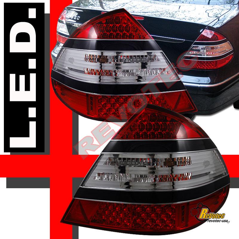 03 06 Mercedes Benz E Class W211 E350 E320 E55 Led Tail