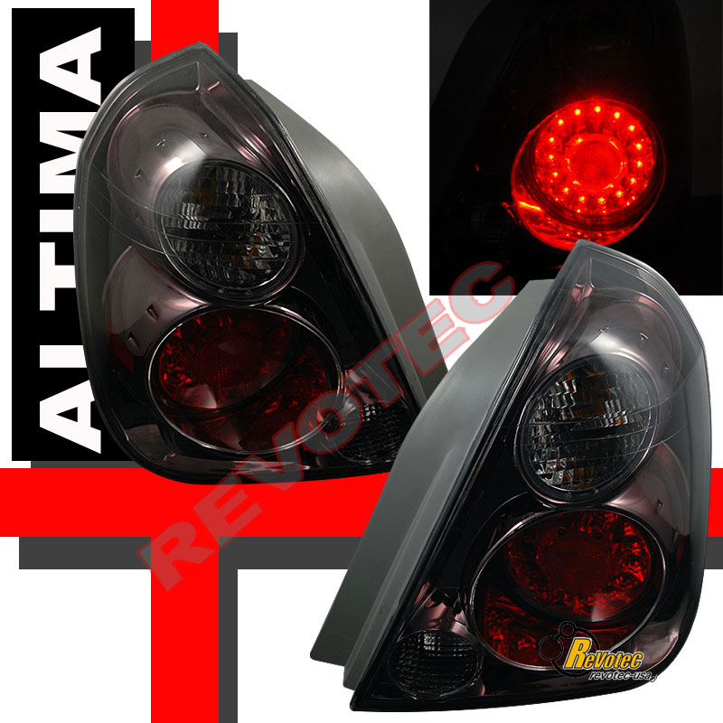 Smoke LED Tail Lights For 2002-2006 Nissan Altima 03 04 05
