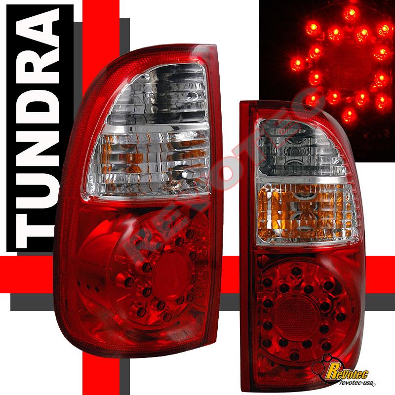 05 Toyota Tundra: 05 06 TOYOTA TUNDRA ACCESS CAB LED TAIL LIGHTS LAMP SR5